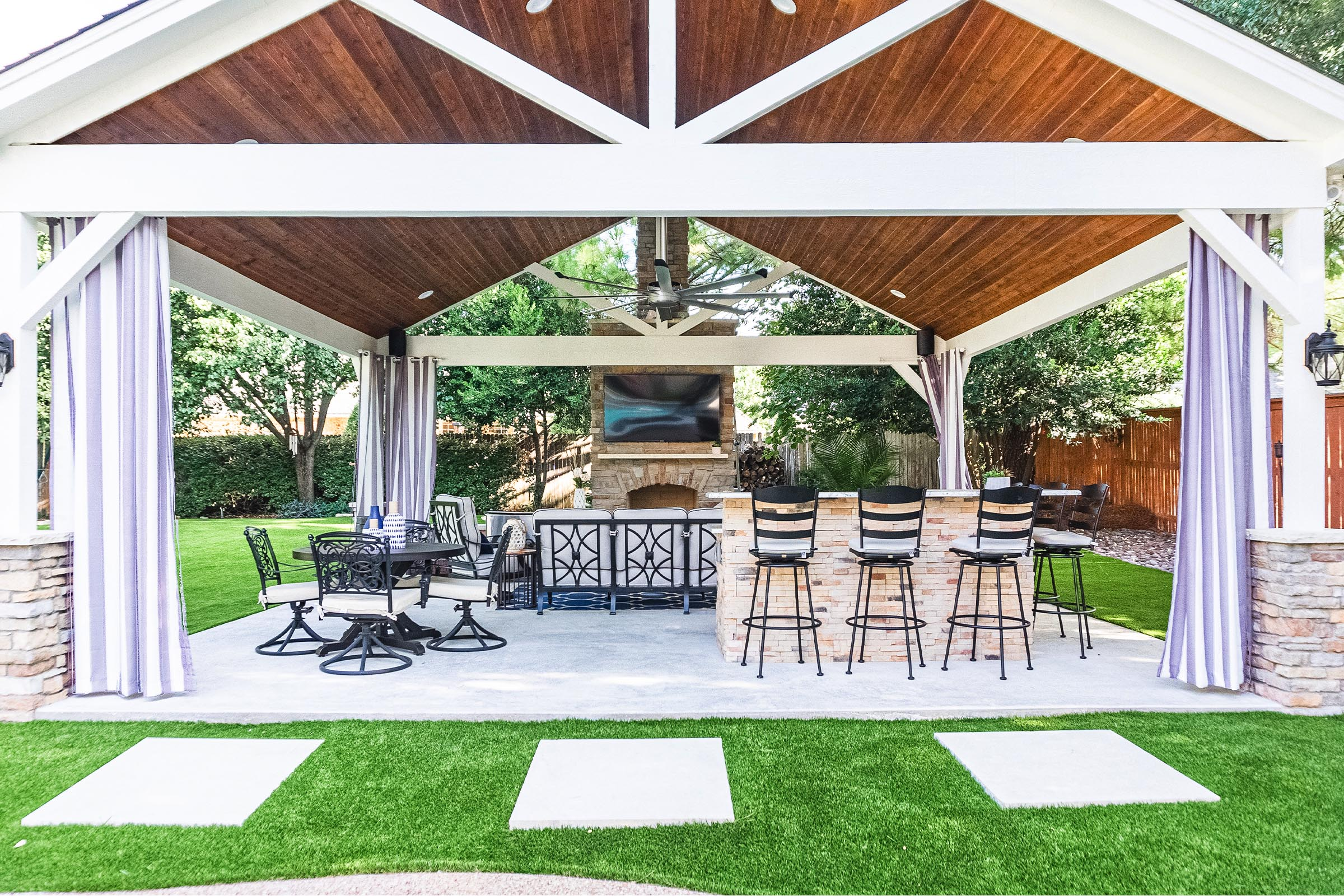 Outdoor Kitchens, Patio Covers | Fort Worth, Burleson TX ... on Dfw Complete Outdoor Living id=46805