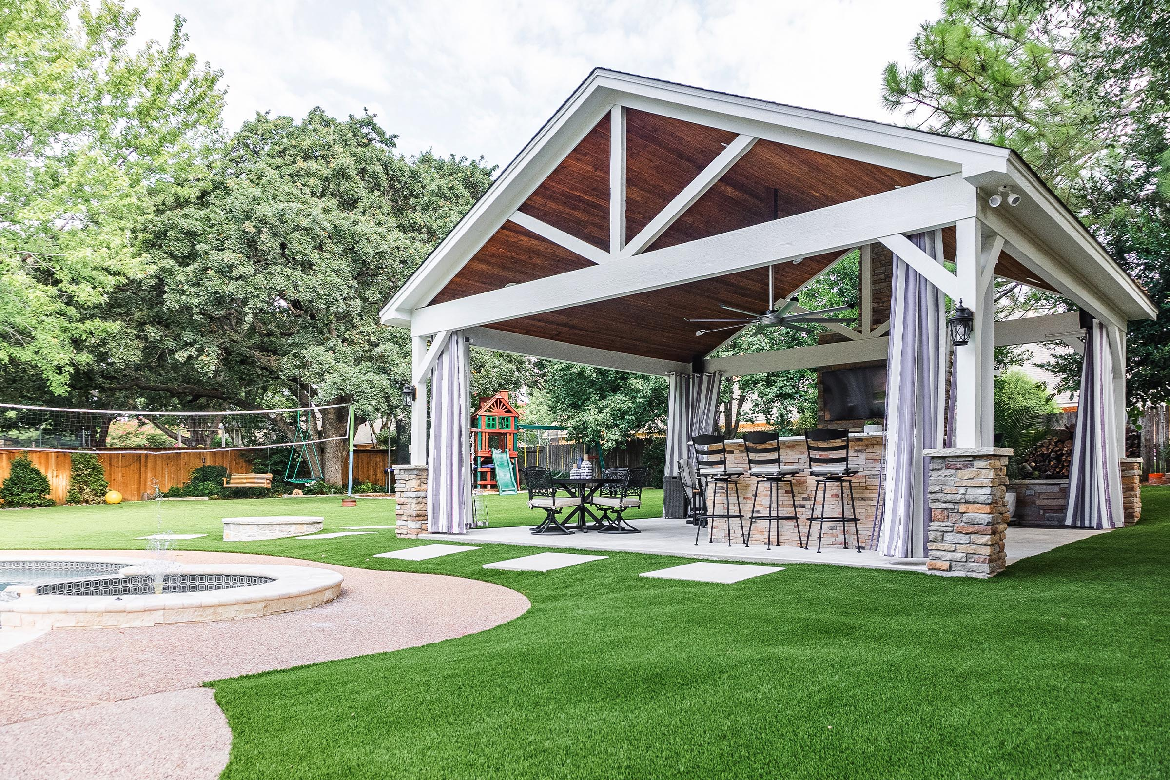 Outdoor Kitchens, Patio Covers | Fort Worth, Burleson TX ... on Dfw Complete Outdoor Living id=24565