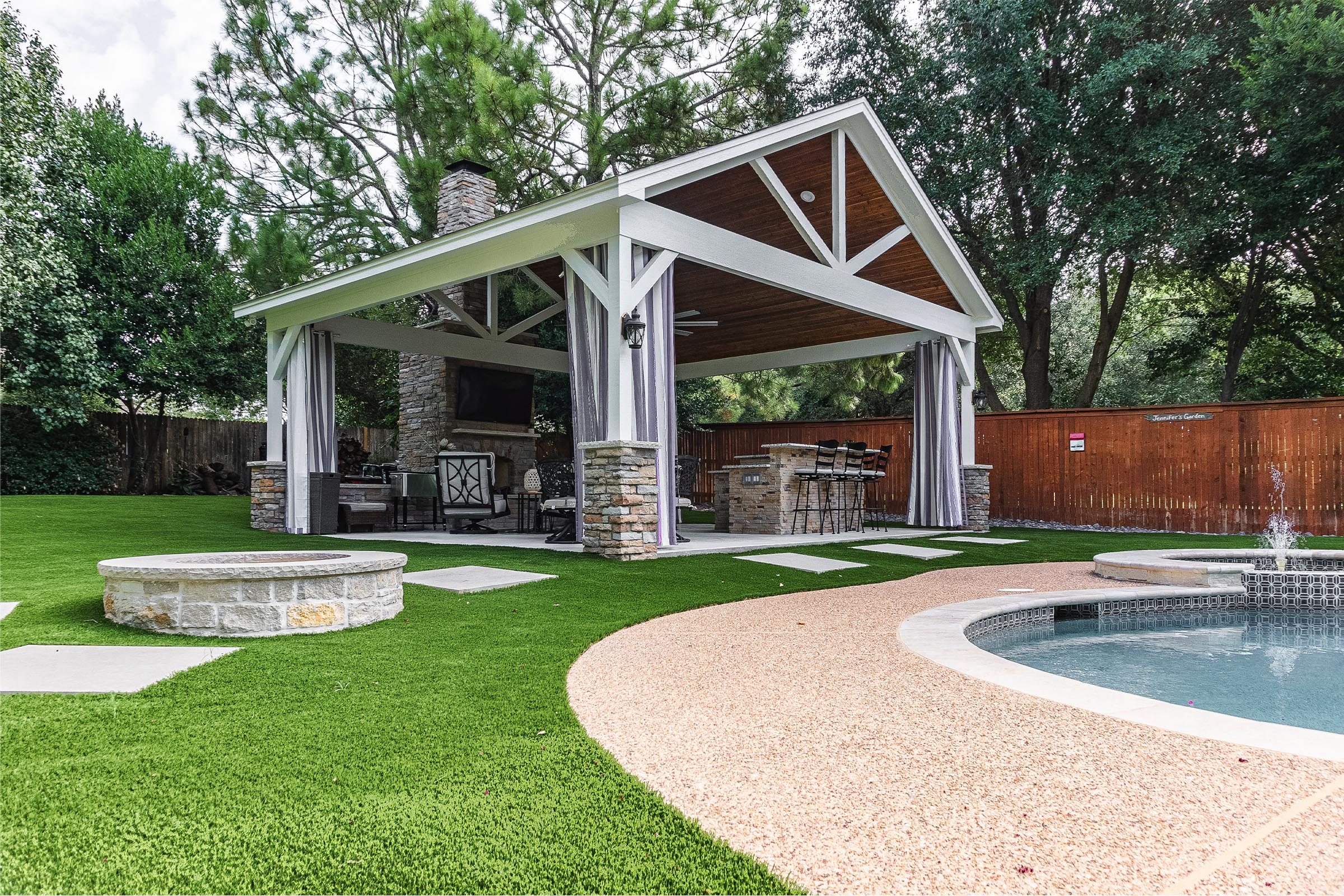 Outdoor Kitchens, Patio Covers | Fort Worth, Burleson TX ... on Dfw Complete Outdoor Living id=18869