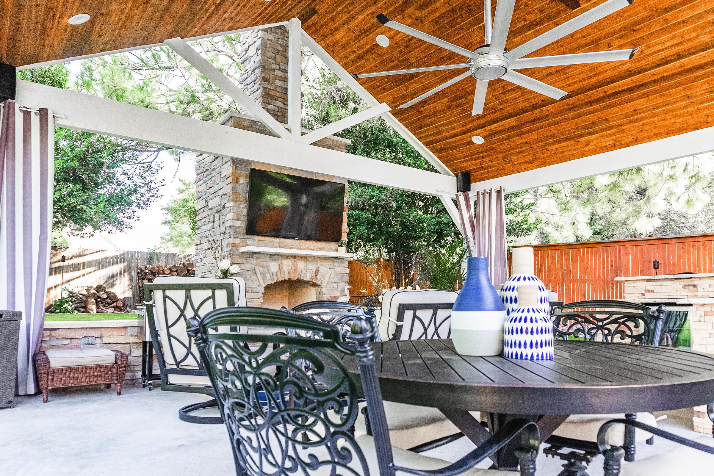 Outdoor Kitchens, Patio Covers | Fort Worth, Burleson TX ... on Dfw Complete Outdoor Living id=64151