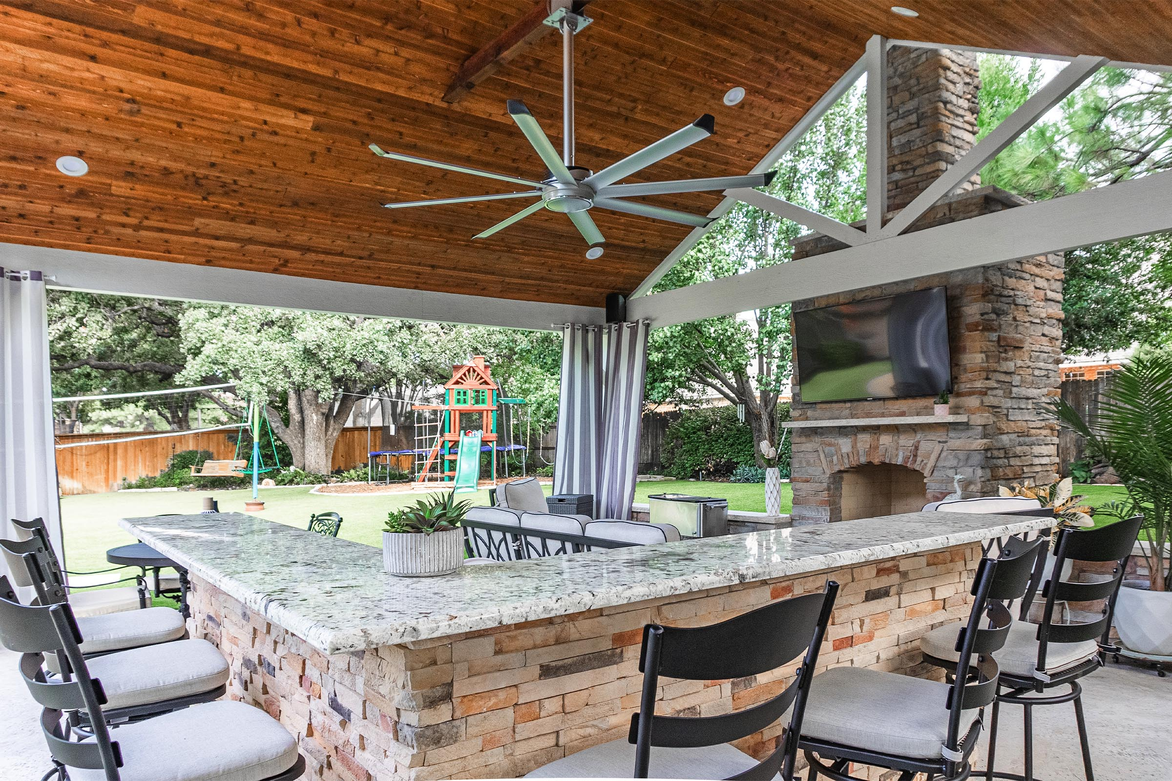 Outdoor Kitchens, Patio Covers | Fort Worth, Burleson TX ... on Dfw Complete Outdoor Living id=14255