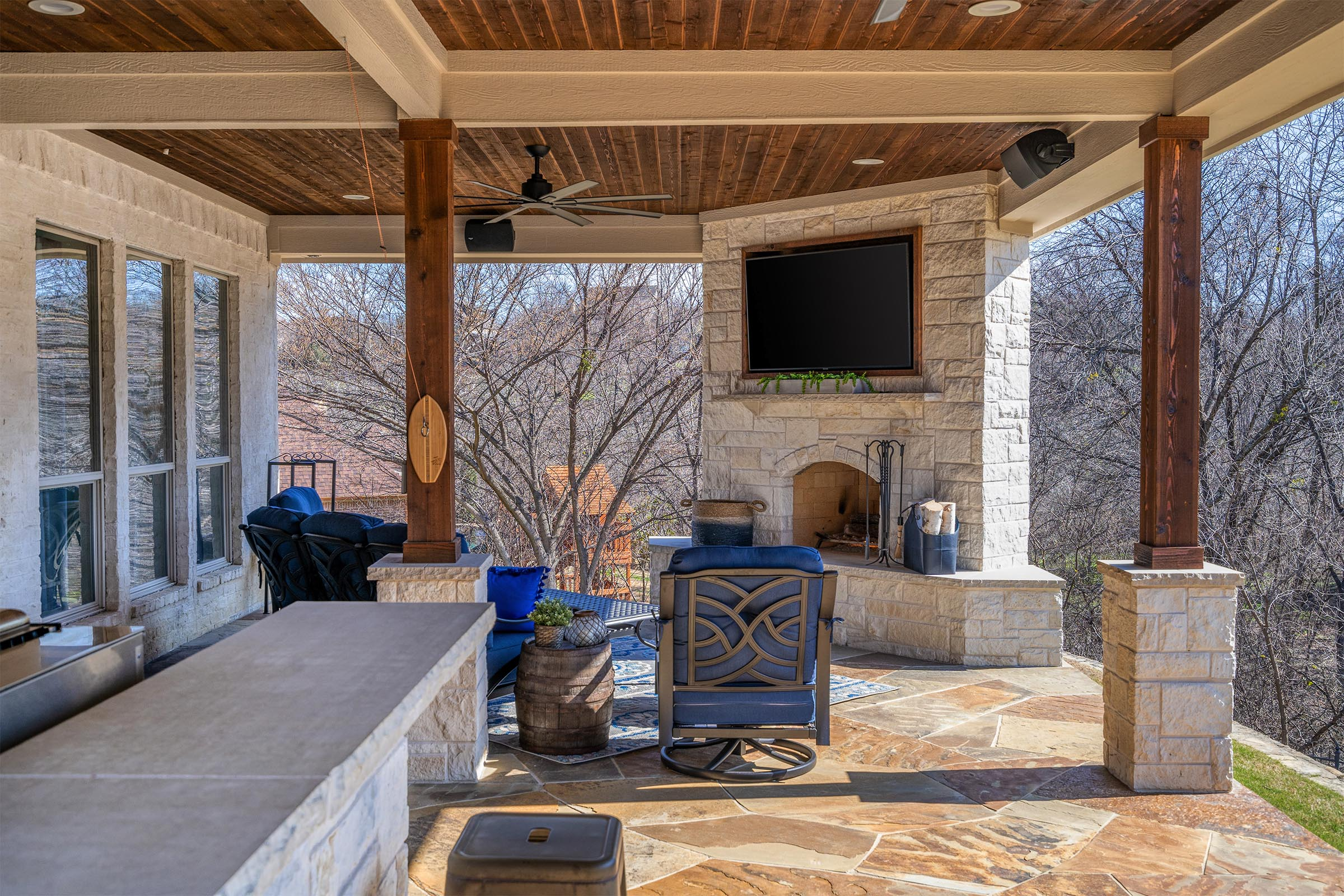 Outdoor Kitchens, Patio Covers | Fort Worth, Burleson TX ... on Dfw Complete Outdoor Living id=37030