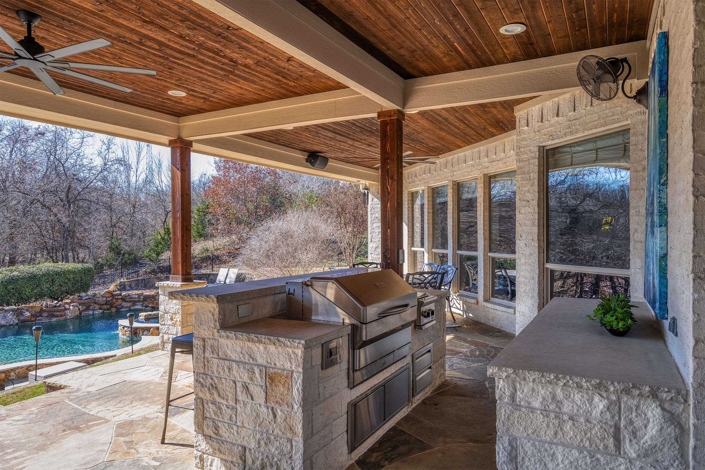 Outdoor Kitchens, Patio Covers | Fort Worth, Burleson TX ... on Dfw Complete Outdoor Living id=41234