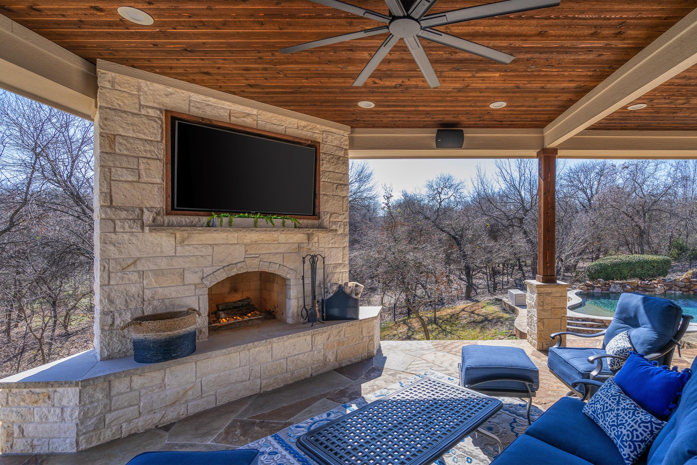 Outdoor Kitchens, Patio Covers | Fort Worth, Burleson TX ... on Dfw Complete Outdoor Living id=19542