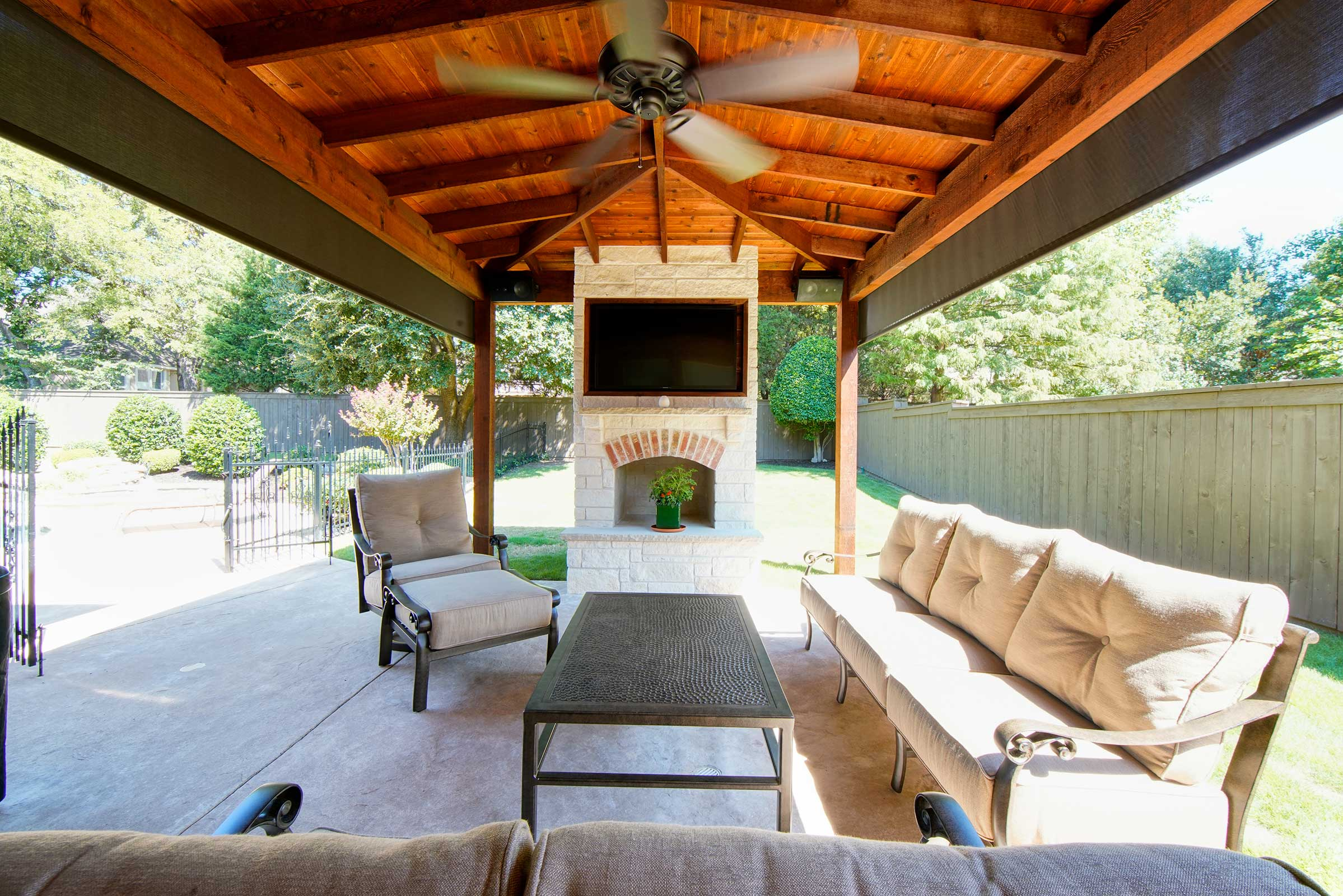 Outdoor Kitchens Patio Covers Fort Worth Burleson Tx Hillman