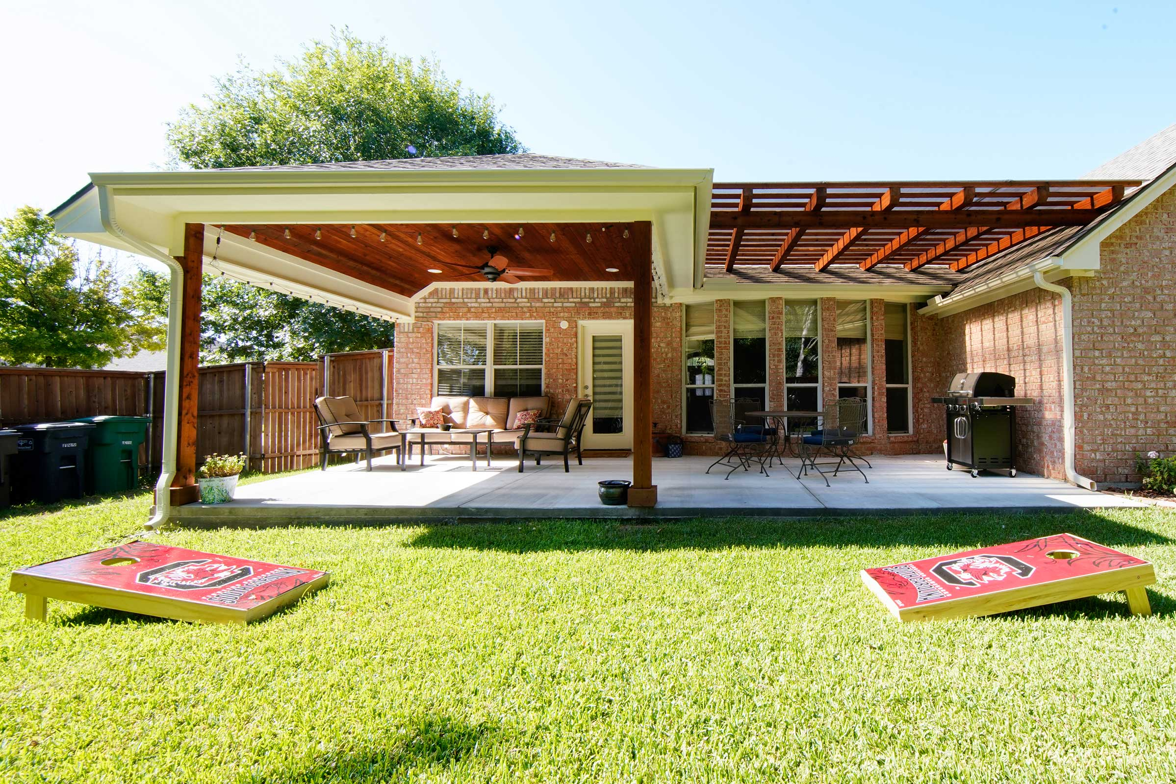 Outdoor Kitchens, Patio Covers | Fort Worth, Burleson TX ... on Dfw Complete Outdoor Living id=37074