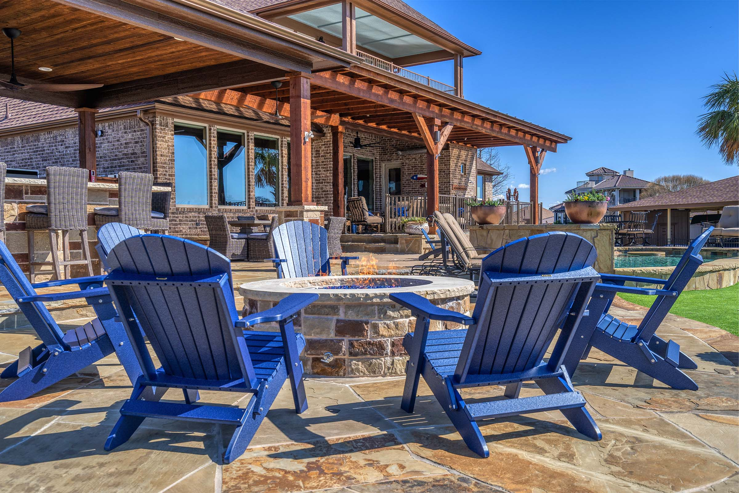 Outdoor Kitchens, Patio Covers | Fort Worth, Burleson TX ... on Dfw Complete Outdoor Living id=51392