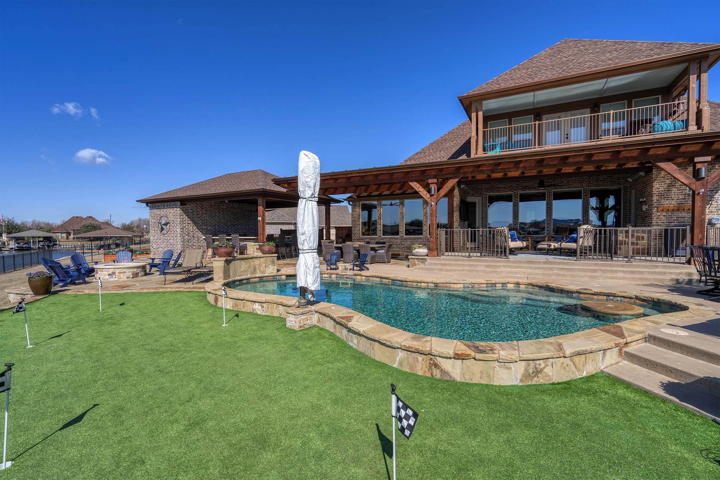 Outdoor Kitchens, Patio Covers | Fort Worth, Burleson TX ... on Dfw Complete Outdoor Living id=39792