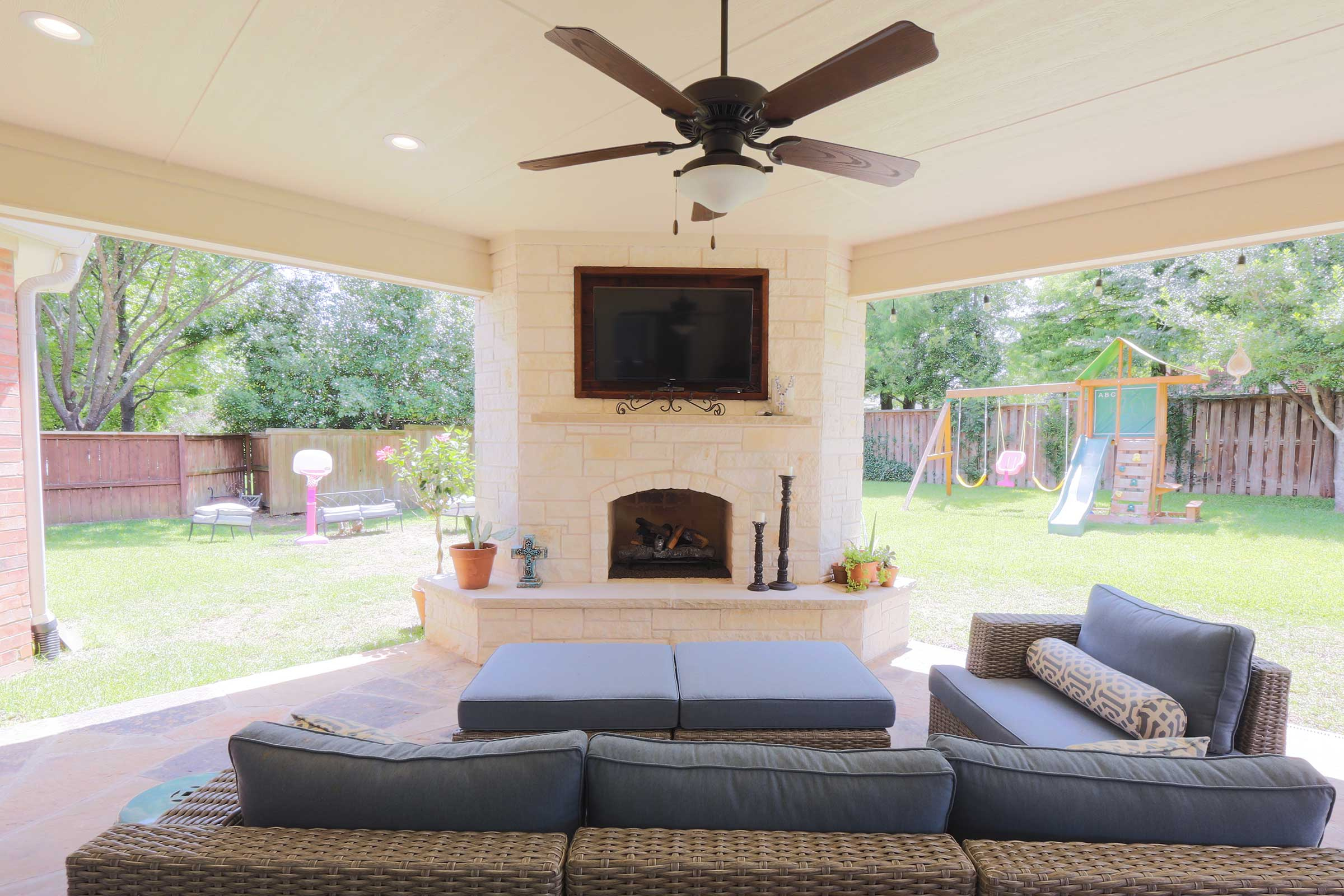 Outdoor Kitchens, Patio Covers | Fort Worth, Burleson TX ... on Dfw Complete Outdoor Living id=82031