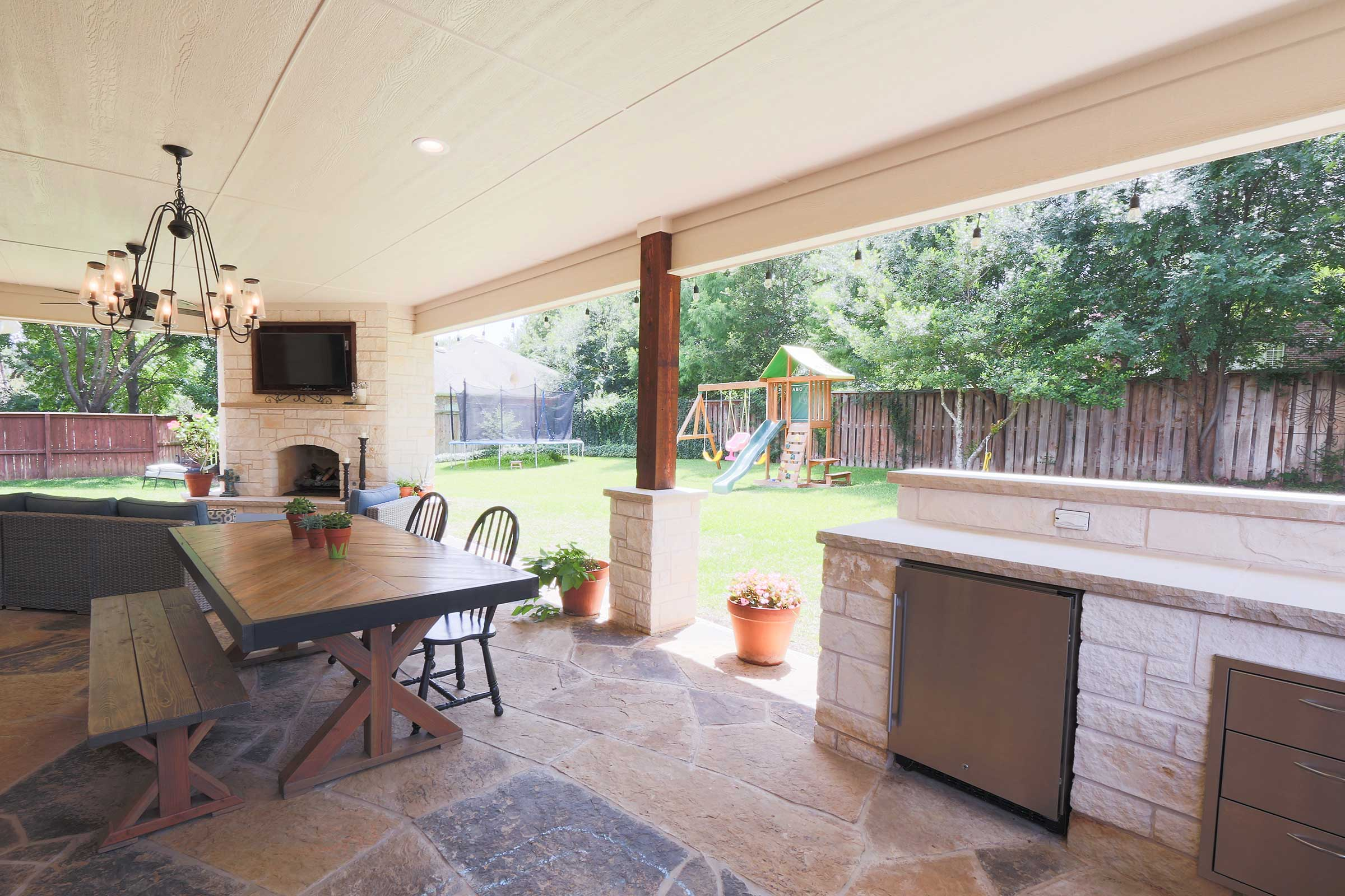 Outdoor Kitchens, Patio Covers | Fort Worth, Burleson TX ... on Dfw Complete Outdoor Living id=67376