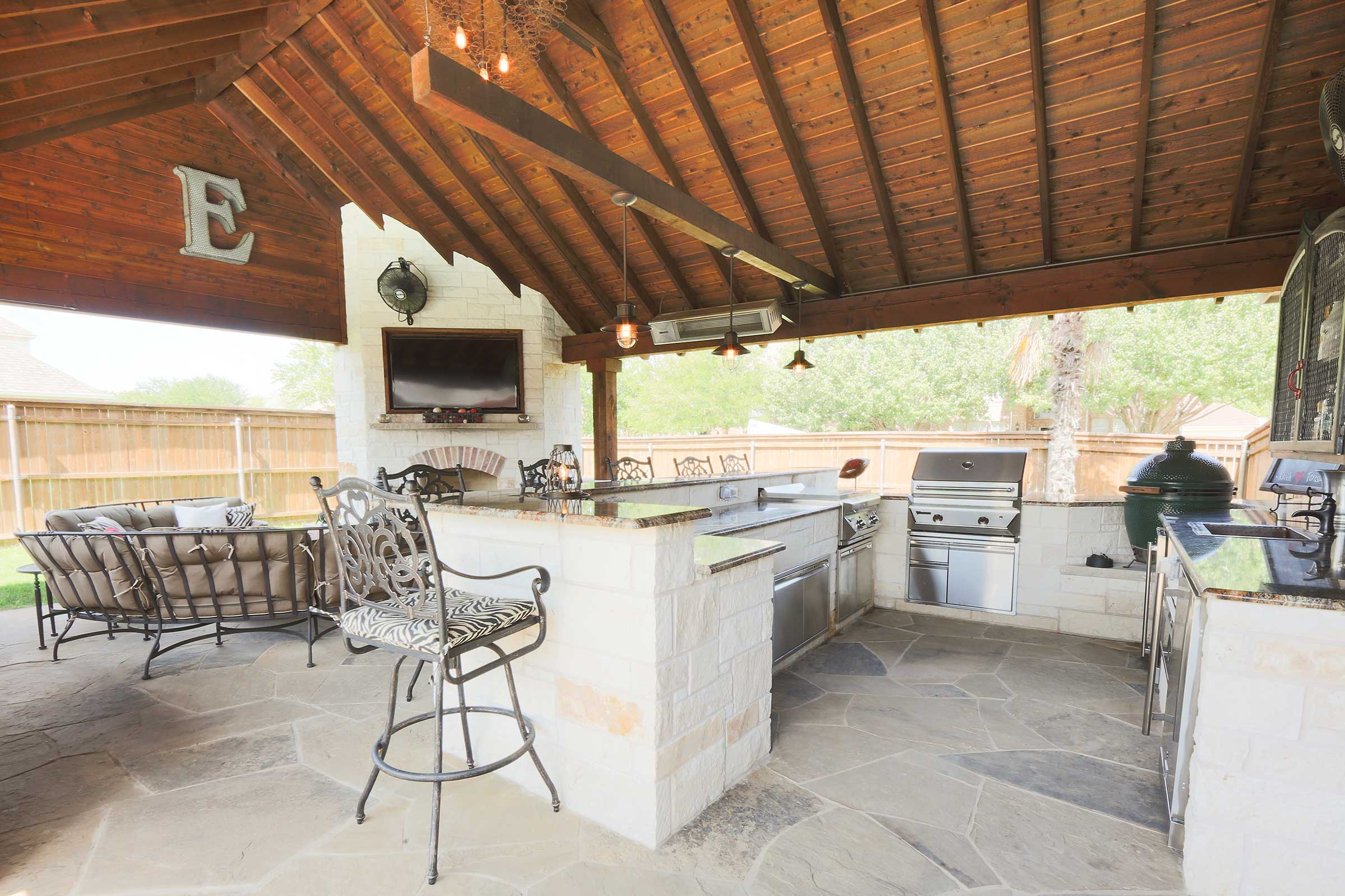 Outdoor Kitchens Patio Covers Fort Worth Burleson Tx