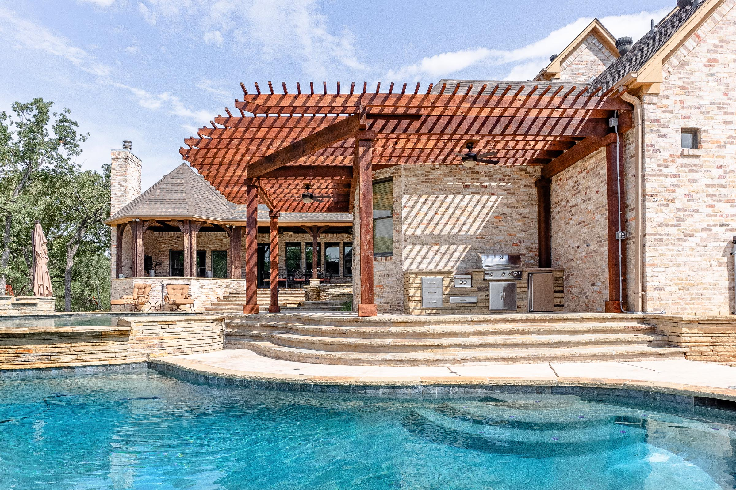 Outdoor Kitchens, Patio Covers | Fort Worth, Burleson TX ... on Dfw Complete Outdoor Living id=85678