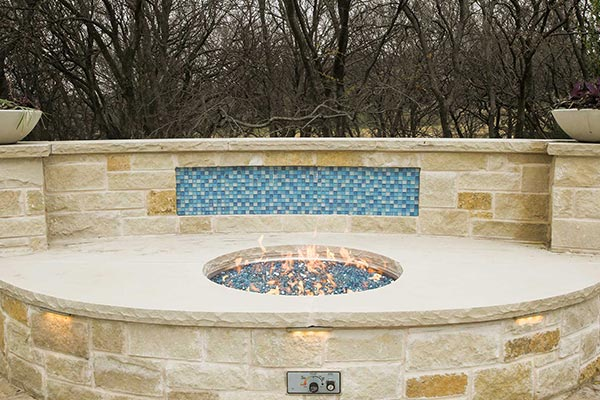 Lueders Stone Firepit