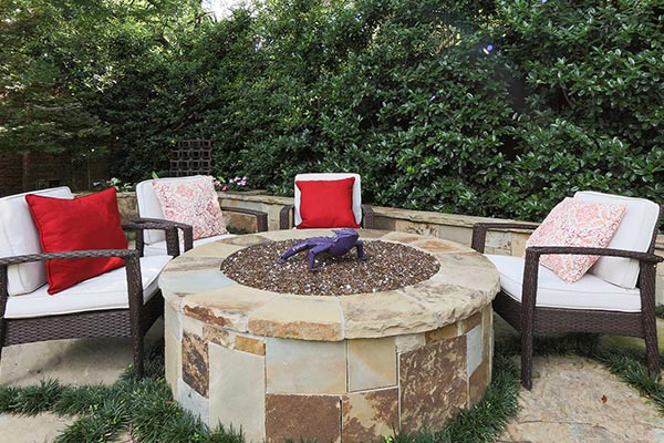 Oklahoma Drystacked Firepit