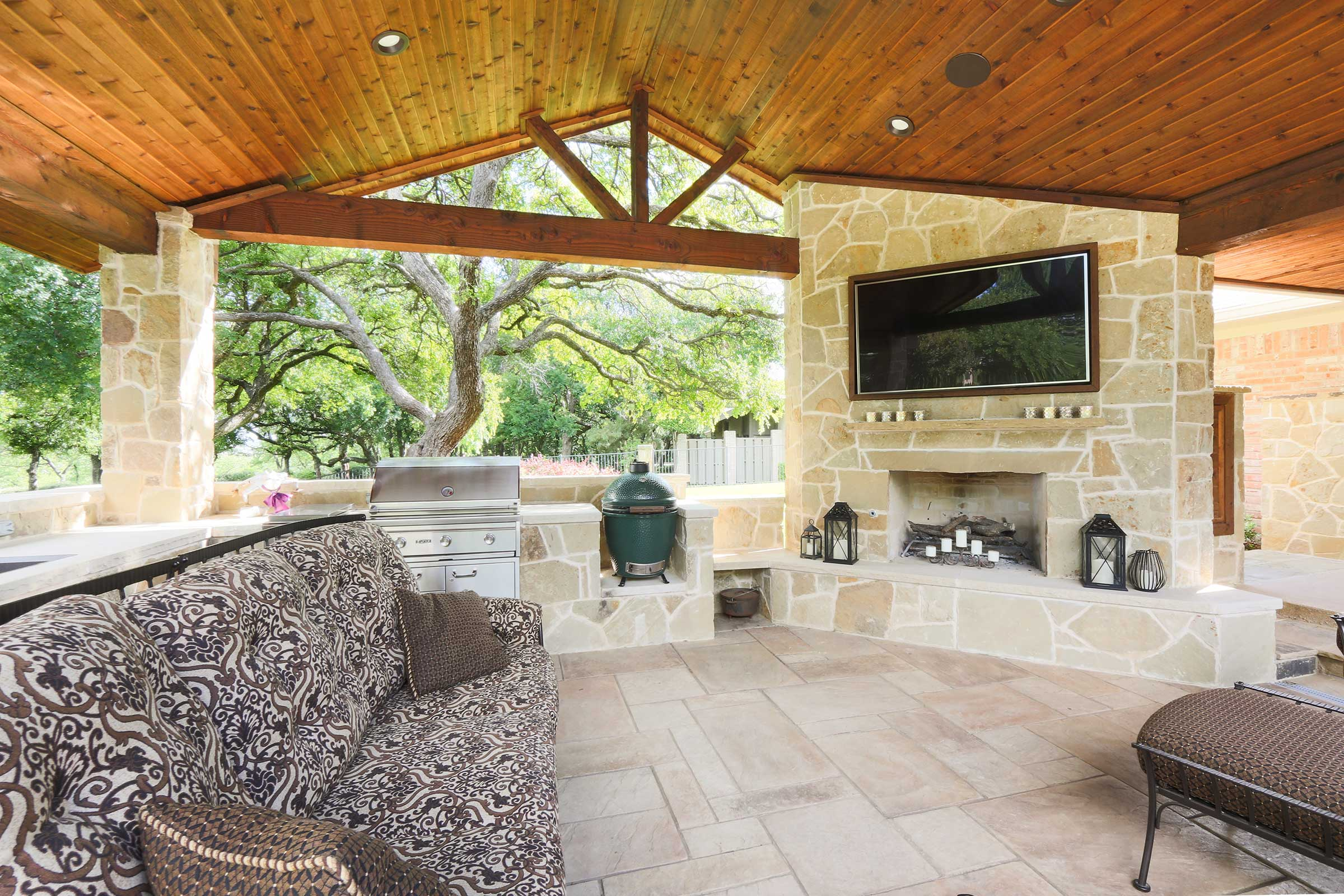 Outdoor Kitchens Fireplaces Colleyville Aledo Tx