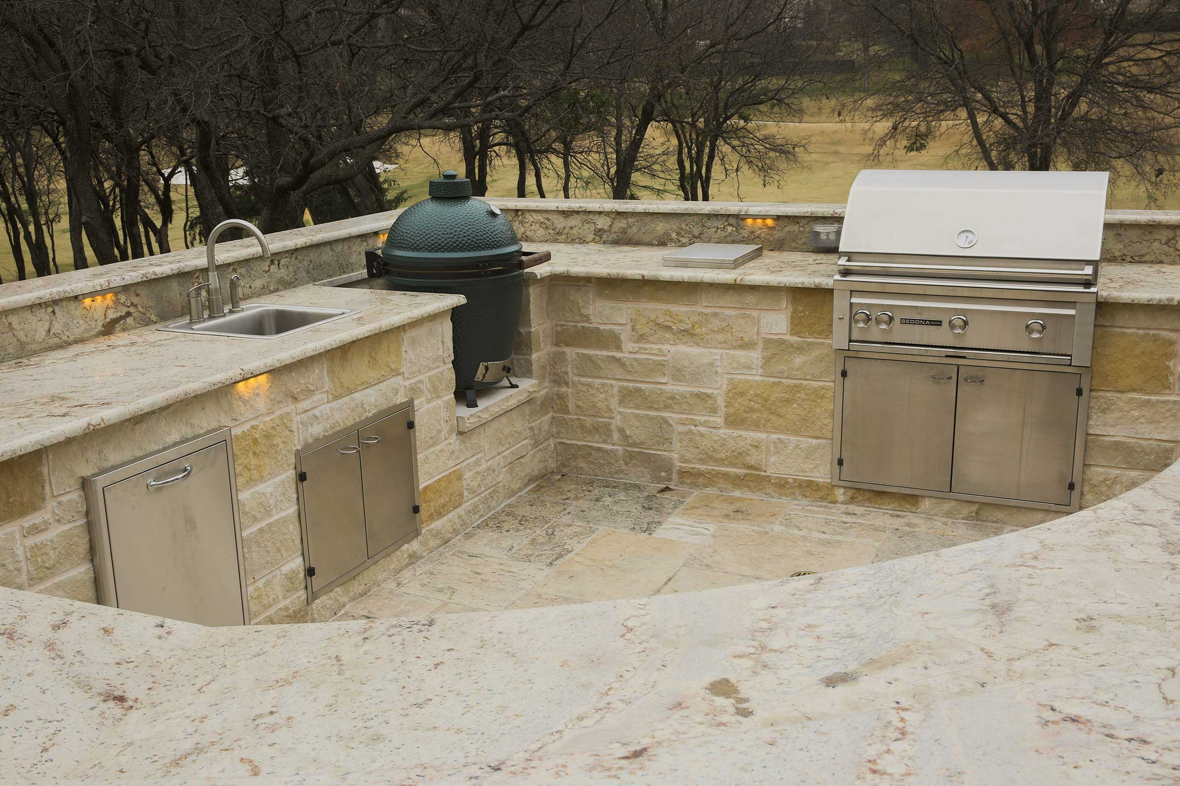 Outdoor Kitchens, Fireplaces | Colleyville, Aledo TX ...