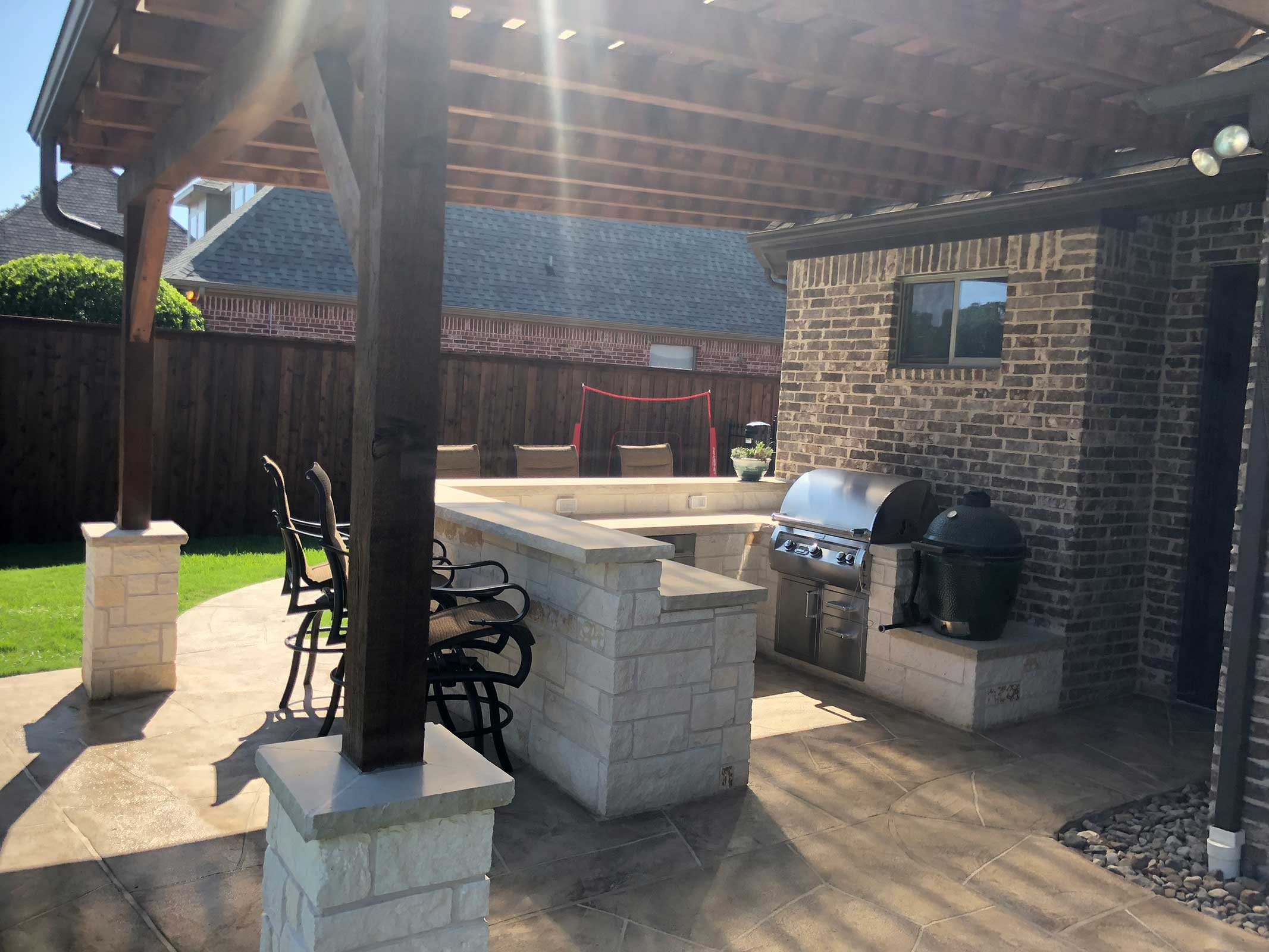 Outdoor Kitchens Colleyville, Pictures Of Outdoor Kitchens And Bars