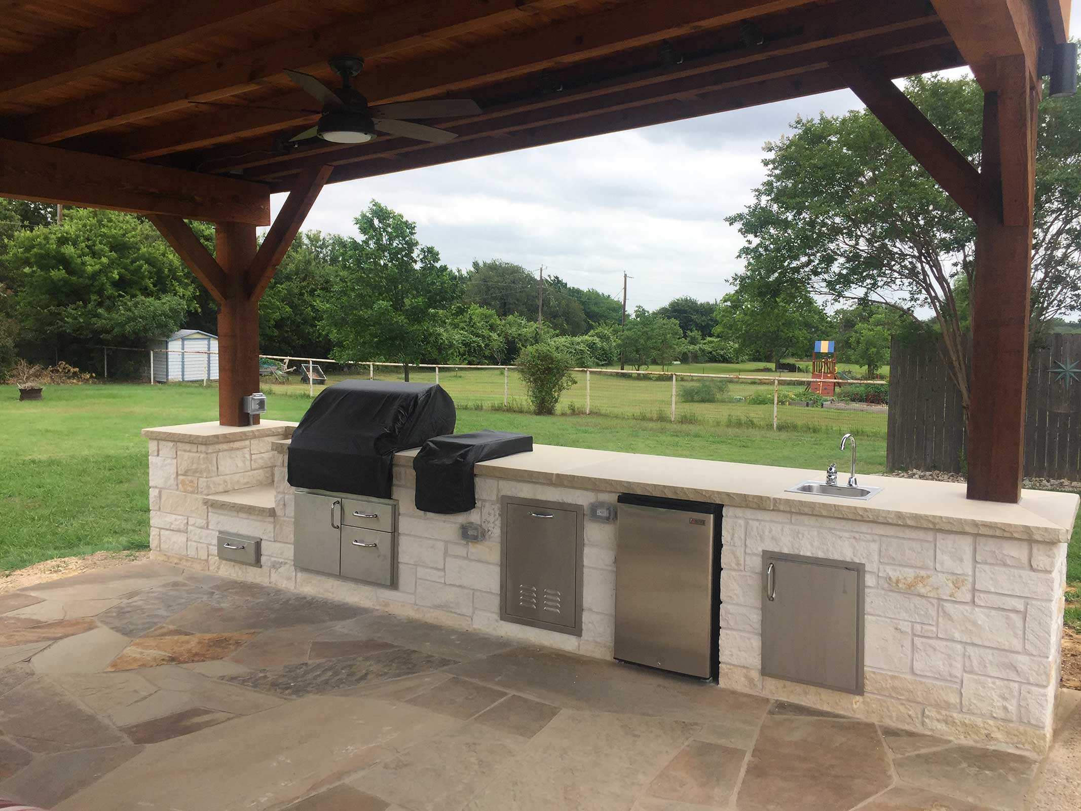 Outdoor Kitchens Colleyville Burleson Tx Hillman