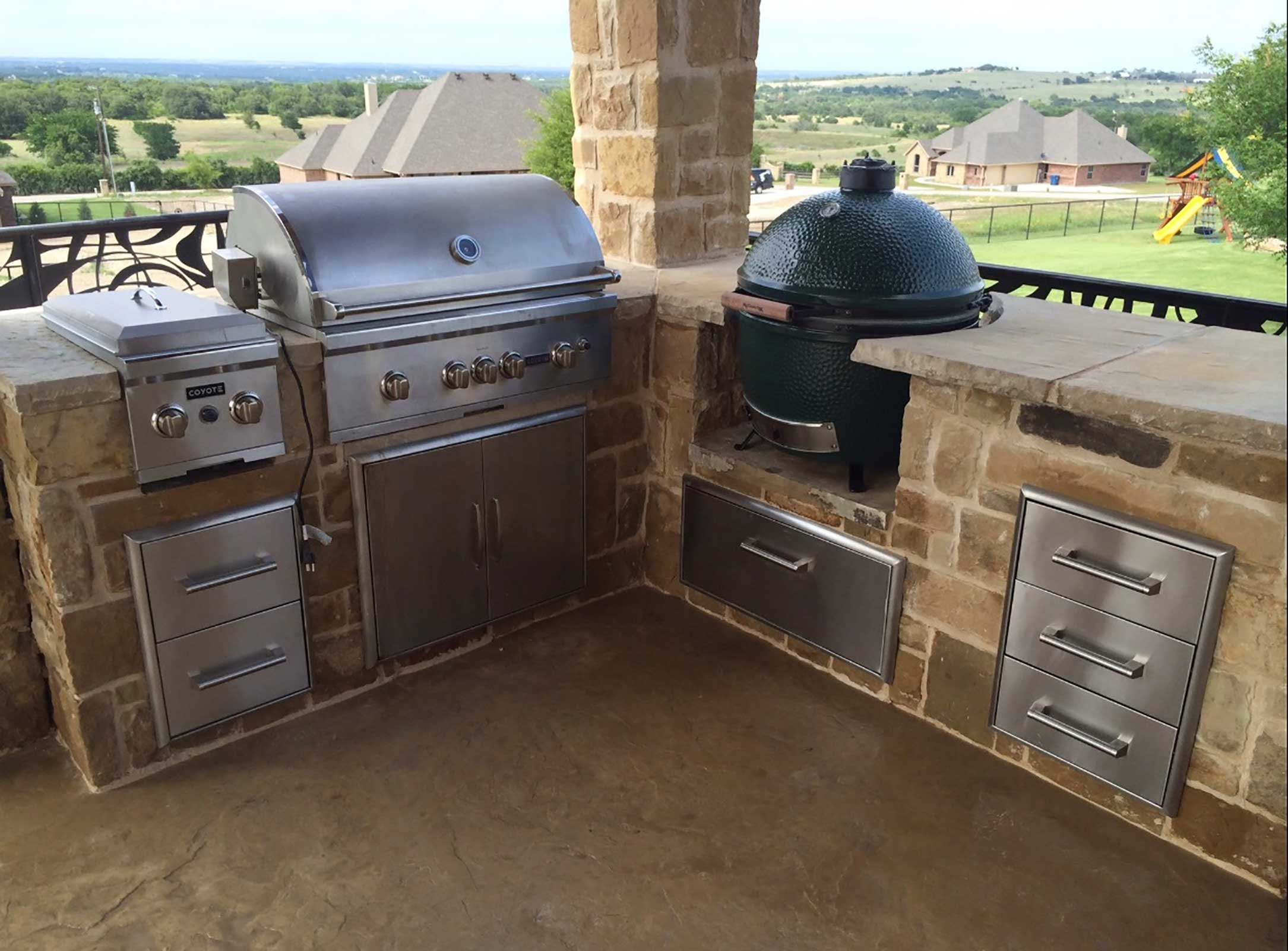 Outdoor Kitchens Colleyville