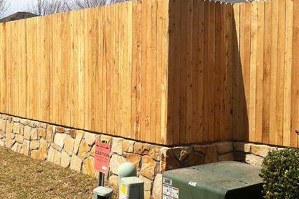 Sandstone Wall and Fence
